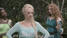 PRINCESS RAP BATTLE: SNOW WHITE VS. ELSA Whitney Avalon (ft. Katja Glieson) *Explicit*