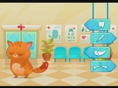 Котик Бубу видео игры онлайн Лечим хвост 3 серия.mp4